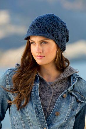 Pistil Violet Knit Hat - Indigo - Womens  b929fffd403