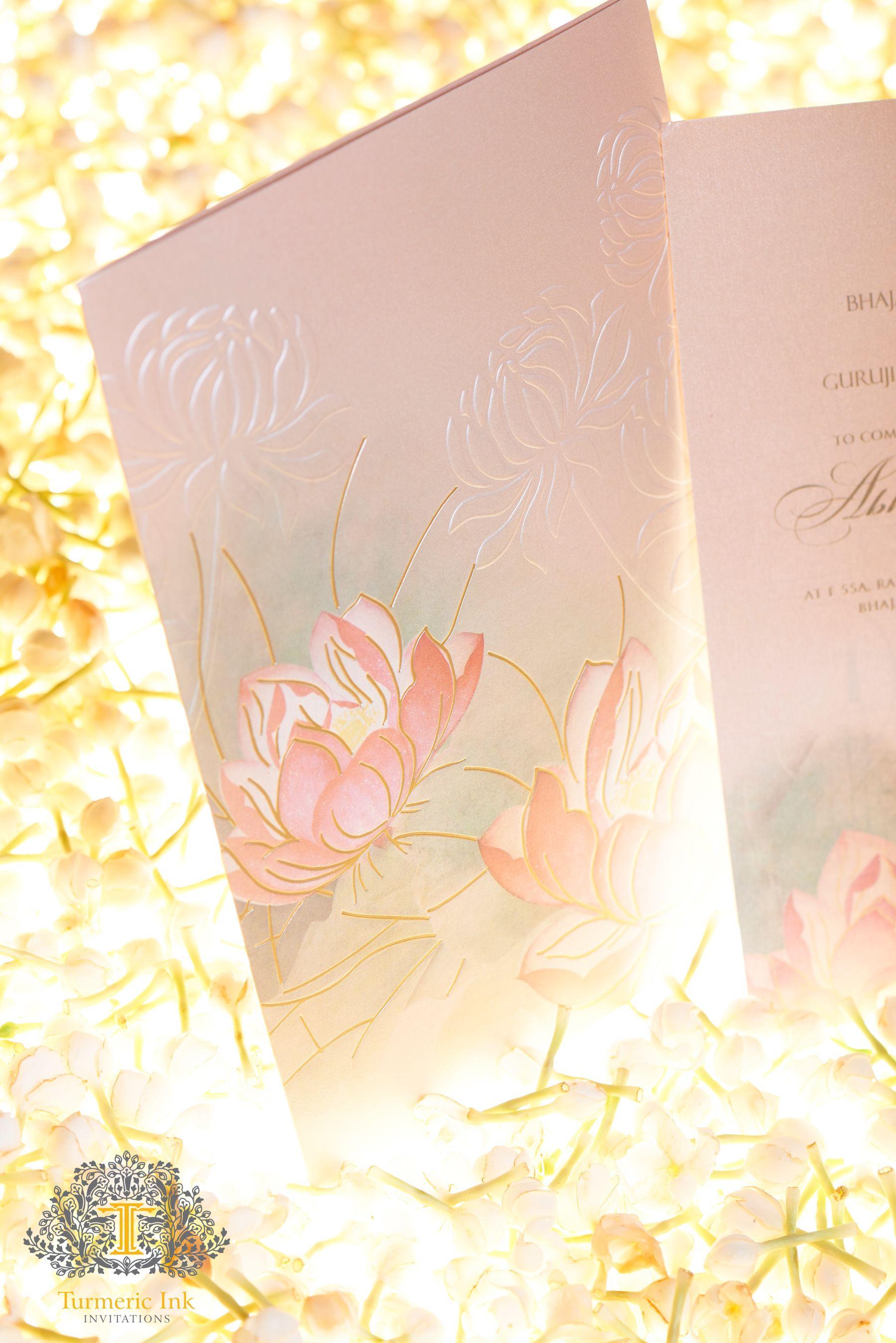 Eskuvoi Meghivo Tavirozsa Motivummal Wedding Invitation Card With