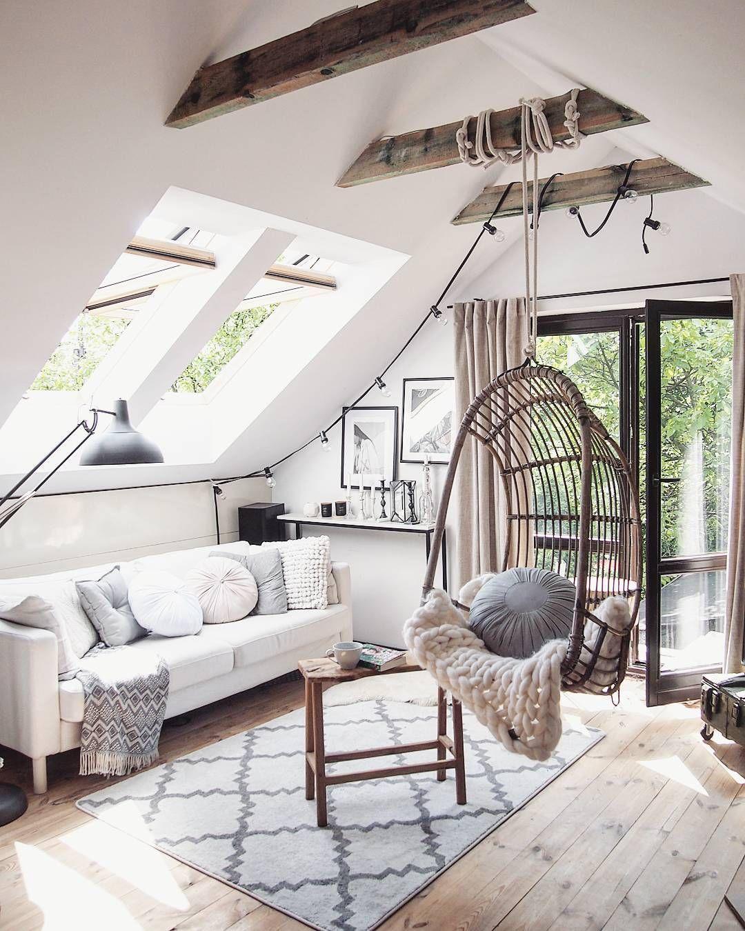D co salon salon scandinave design contemporain arty c t maison inspiration d co - Salon contemporain design ...