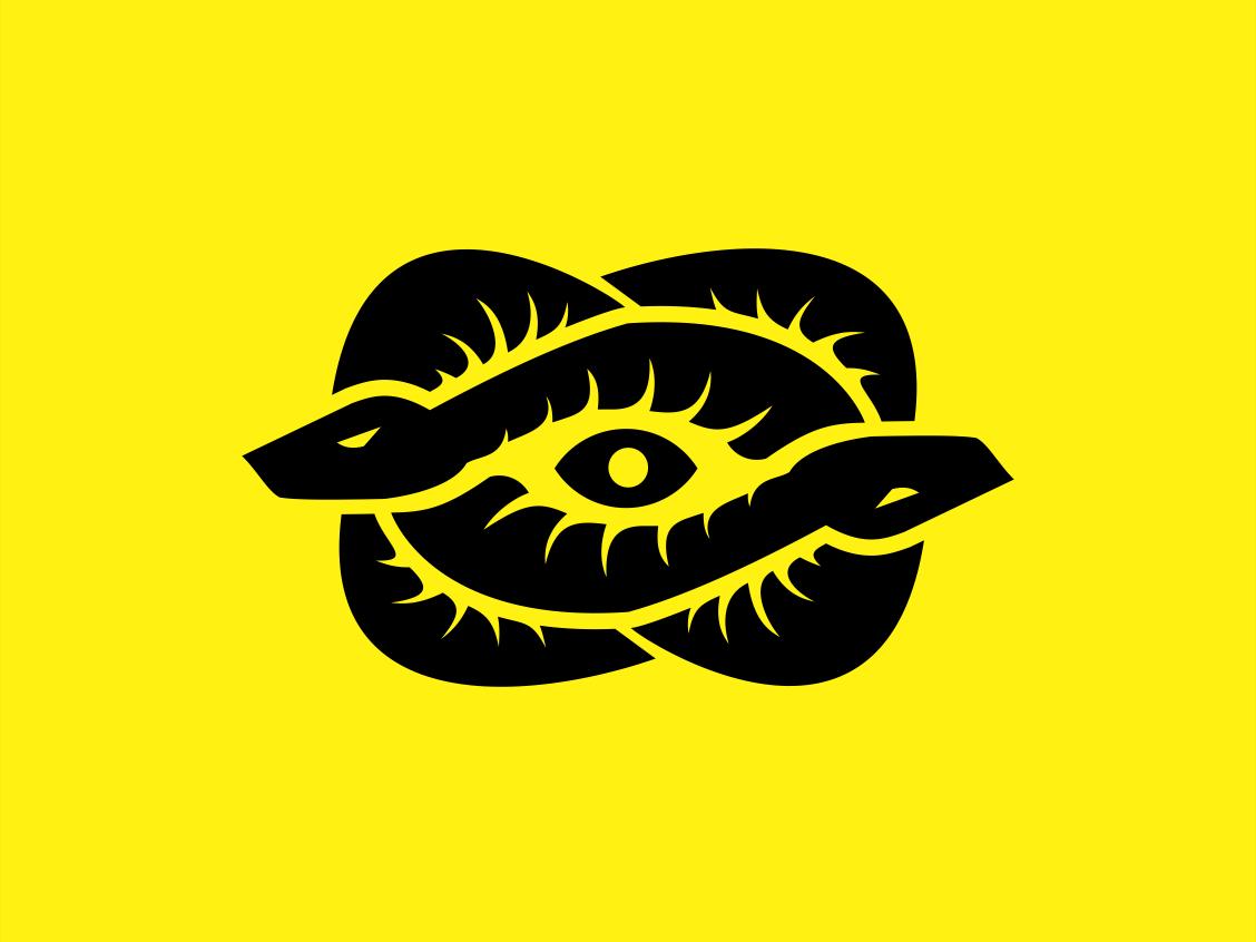 The Snake Eye Snake Logo Snake Art Cartoon Character Design