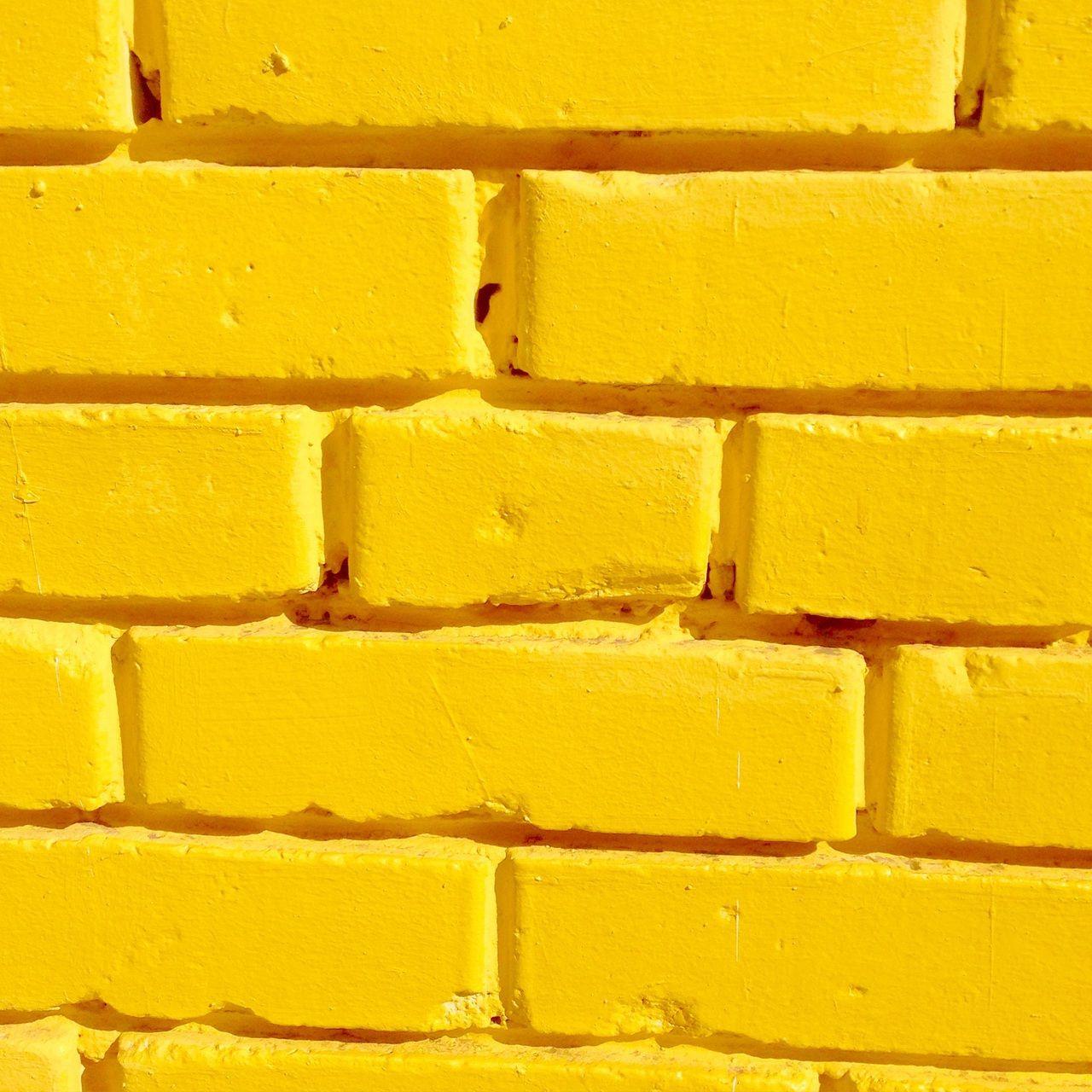 Yellow Bricks , IPhone Wallpaper , Wall , Sunshine , Indie