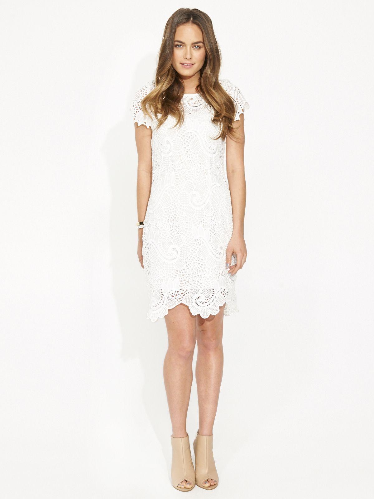 Cameo brakelight dress white.