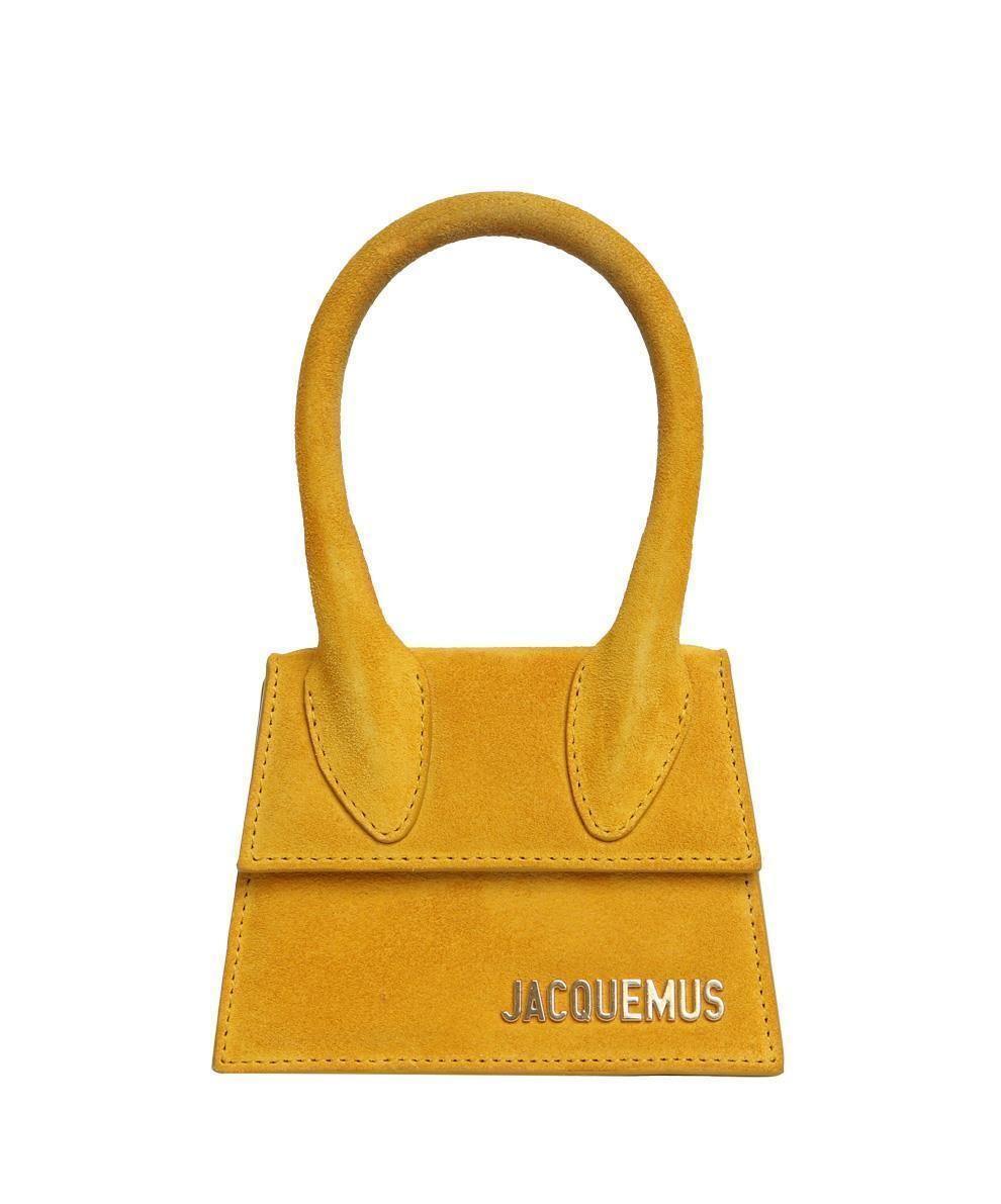 f9f85d887d51 Jacquemus Bags Yellow La Sac  Chiquito  Suede Mini Bag