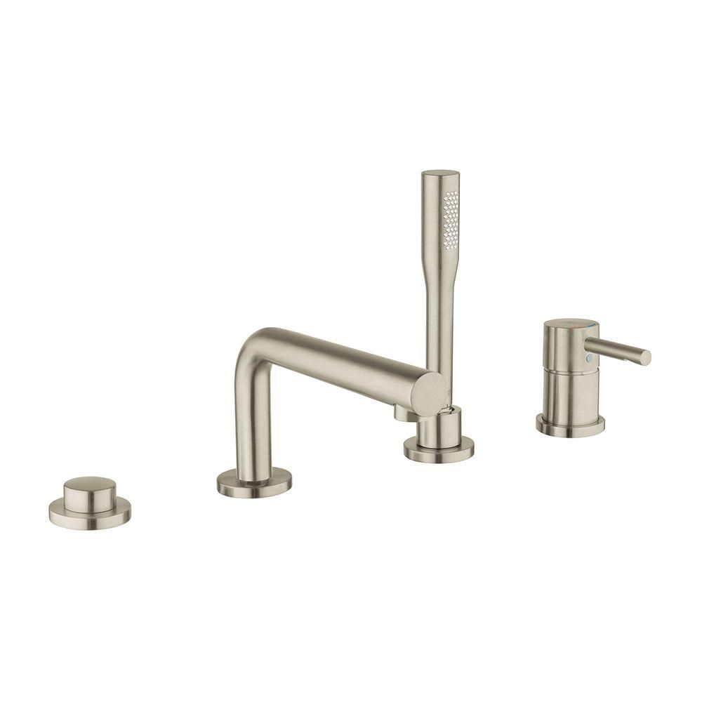 Grohe Essence Single Handle Deck Mount Roman Tub Filler With