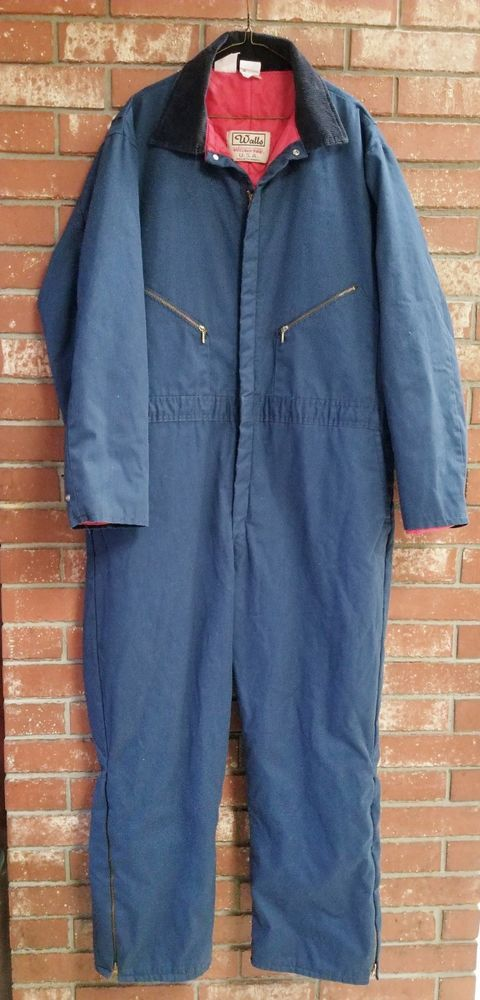 56 chest walls blizzard pruf insulated coveralls blue on walls insulated coveralls blizzard pruf id=47259