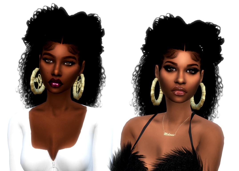 Xxmoniquesimsxx Xxblacksims Kelly Hair For Male And Female Sims Hair Sims 4 Black Hair Sims 4 Mods Clothes