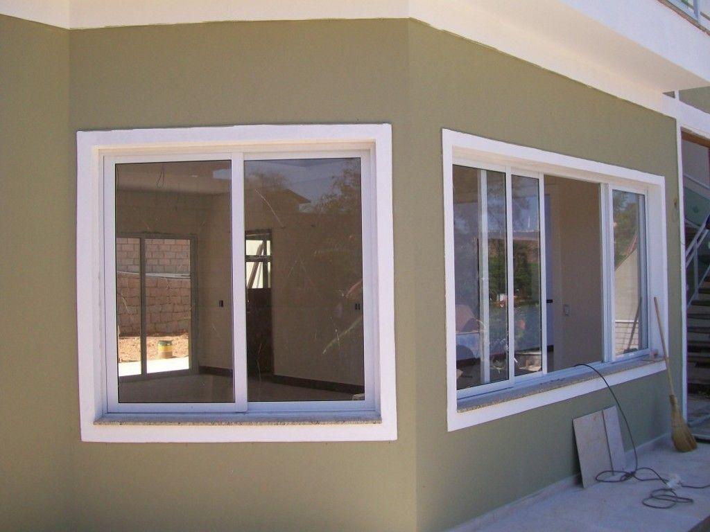 #846447  Janelas de aluminio branco Mesa aluminio e Grandes cortinas de janela 292 Janelas De Vidro São Seguras