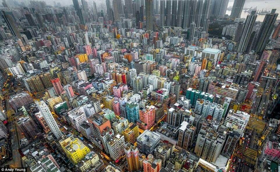 Hong Kong, splendida  ....
