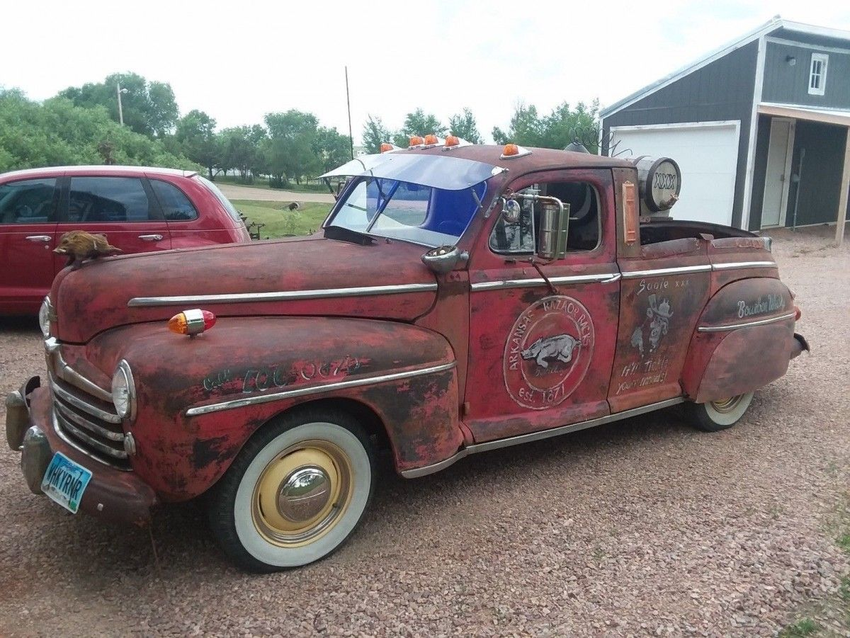 Whiskey Pig 1948 Ford Pickup 1948 ford pickup, Vintage