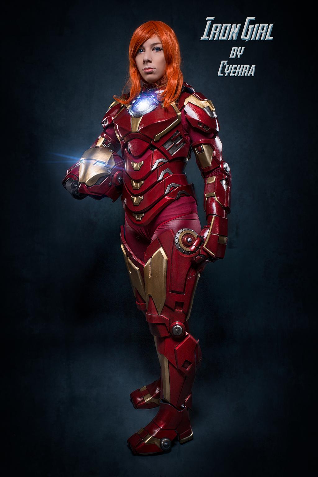 Iron woman. by BlackRabbitDance on DeviantArt