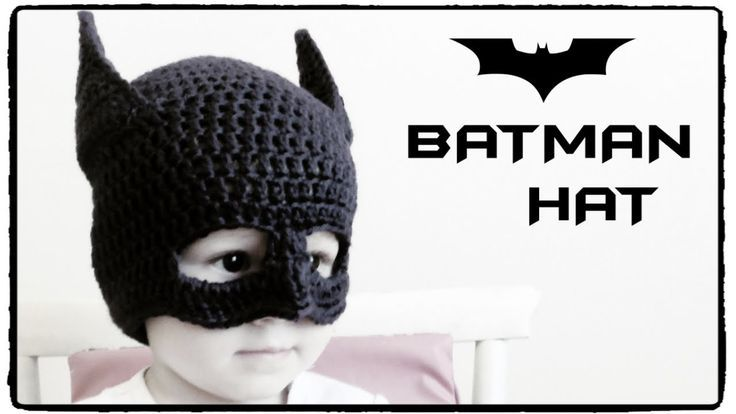 Batman Hat Crochet - Keep your little caped crusader warm this winter with  this free crochet pattern e523aaa906a3