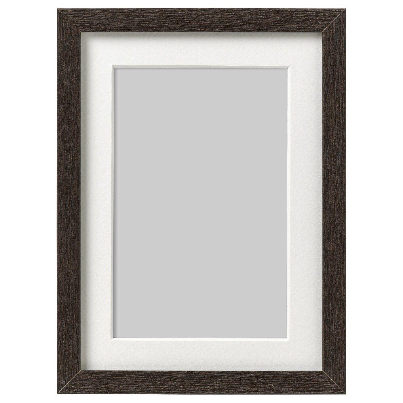 Hovsta Ramme Morkebrun 13x18 Cm Ikea I 2020 Fotoramme Morkebrun Indretningsideer