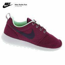 Zapatillas Nike Roshe Run Mujer Morado Original