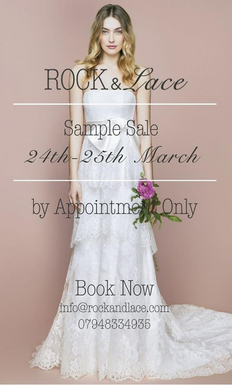 Rock and Lace Bridal Sample Sale -- London -- 24/03-25/03 | Sample ...