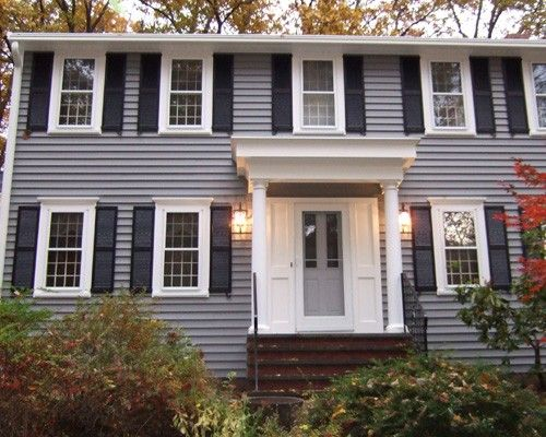 Pin By Patches Of Color On Home Exteriors Mastic Vinyl Siding House Paint Exterior Vinyl Siding