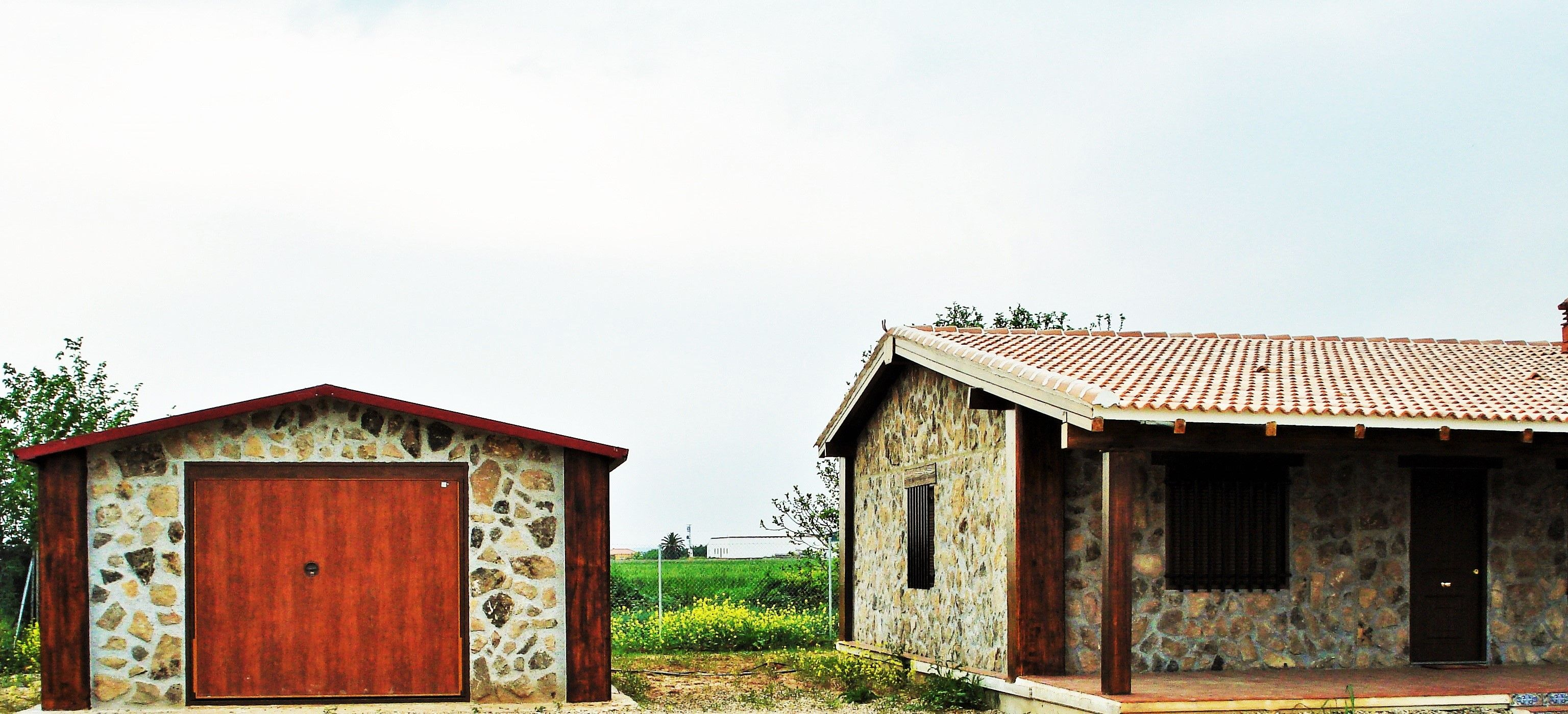 Garaje casa prefabricada - Casas de acero prefabricadas ...