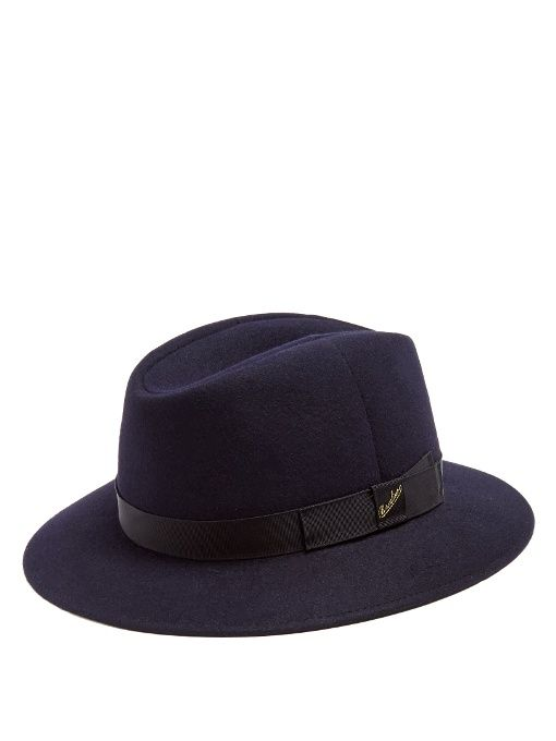 d55d3a77ad060 BORSALINO Alessandria Casual Felt Hat.  borsalino  hat