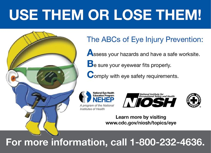Do you know the abcs for eye injury prevention learn how