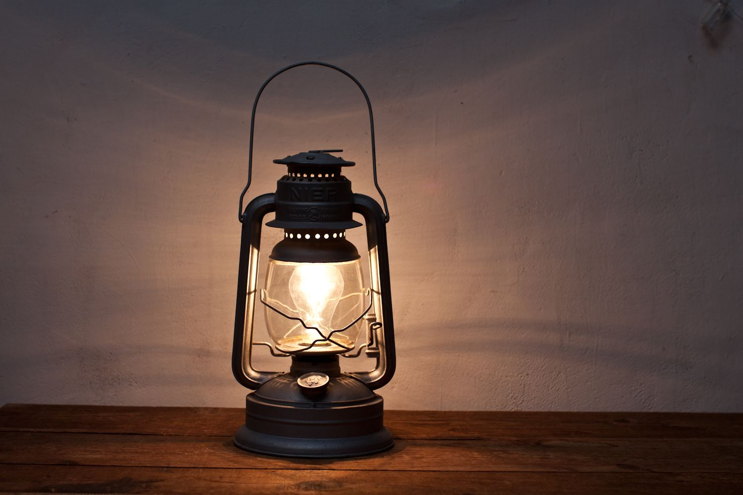 This Nier Gas Lantern Has Been Converted To A Working Electric Plugin Lamp By Whisky Ginger Features A Thomas Edison Bulb An Silver Lanterns Lamp Gas Lanterns