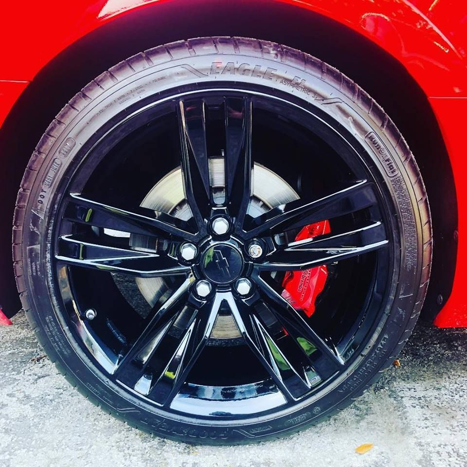 Rim Powder Coating Price Miami Rim Repair Powder Coating Rims Red Camaro