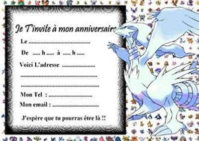 Carte anniversaire pokemon gratuite a - Carte de pokemon a imprimer ...