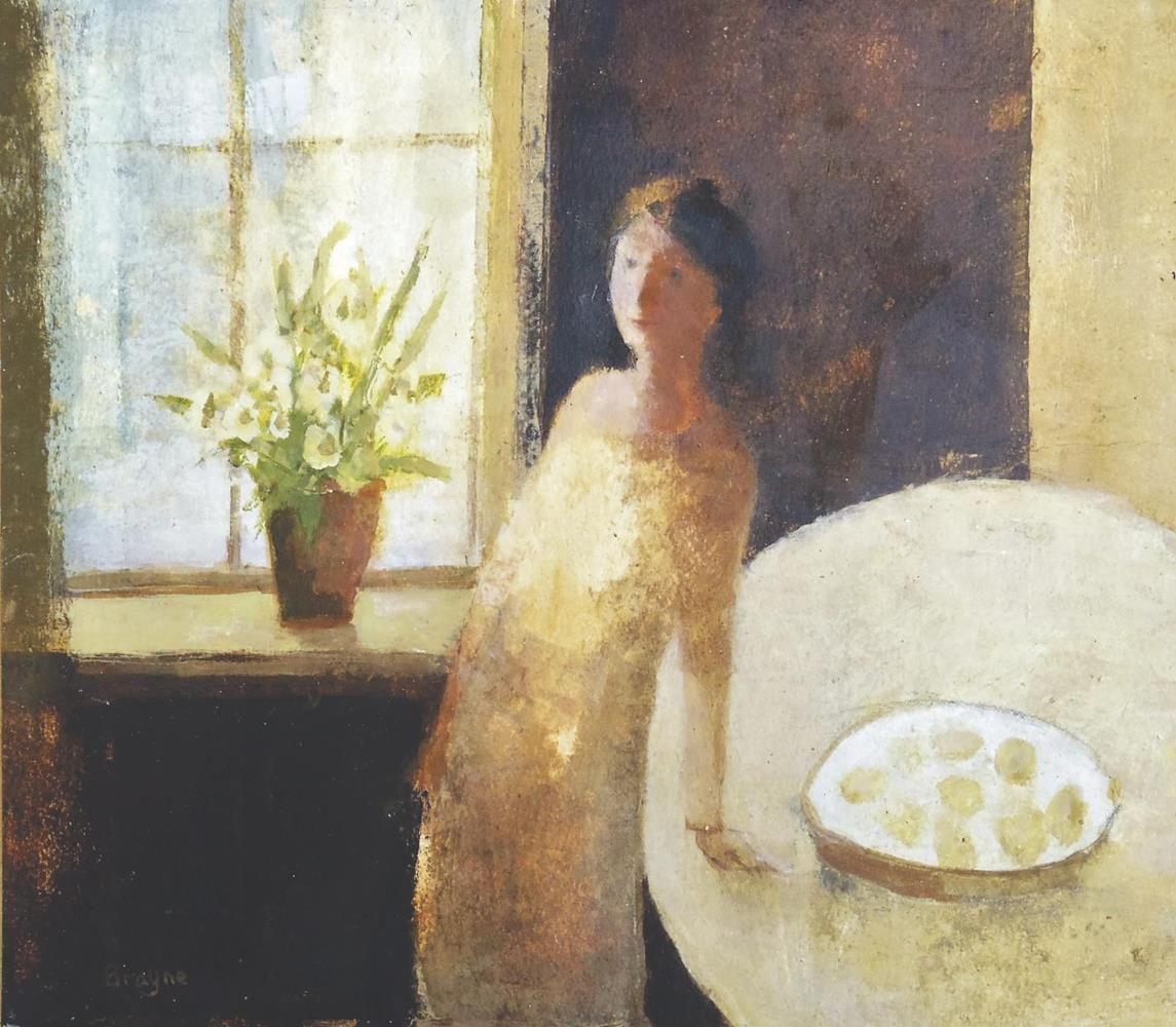 Woman With a Plate of Lemons - David Brayne