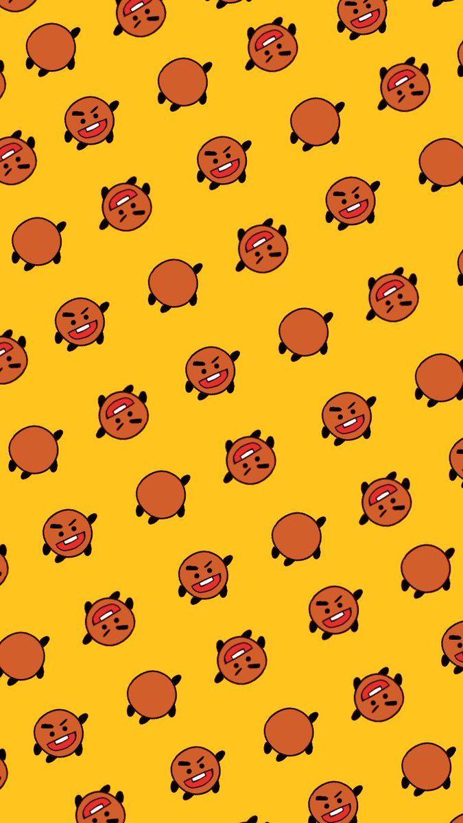 #BT21 BTS wallpapers for iPhone | Bts papel de parede ...