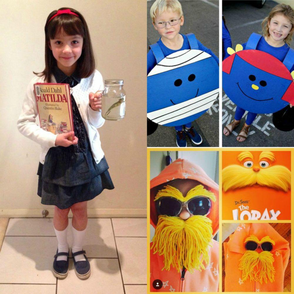 21 Last Minute Diy Book Week Dress Ups For Kids Clean Eating With Kids Kids Book Character Costumes Book Character Costumes Diy Book