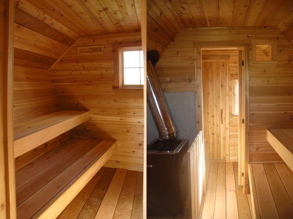 Sauna casa de cuento de madera casas prefabricadas - Construccion de saunas ...