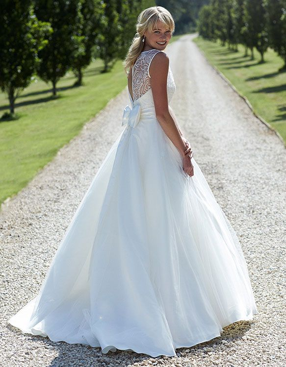 Carly | So Sassi | Turner & Pennell Bridal Gallery | All White ...