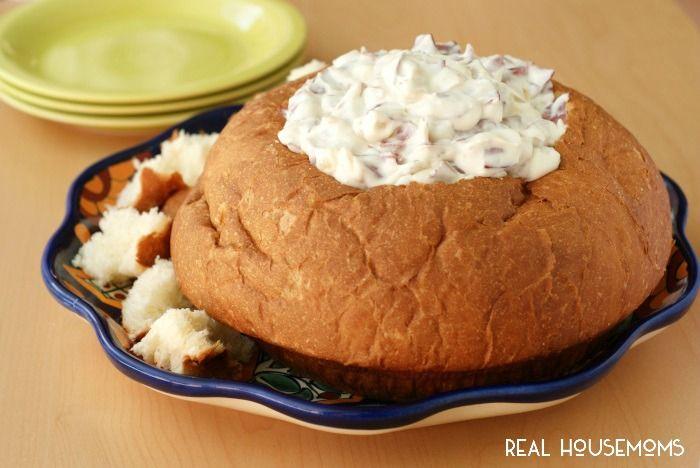 recipe: dried beef dip in bread bowl [5]