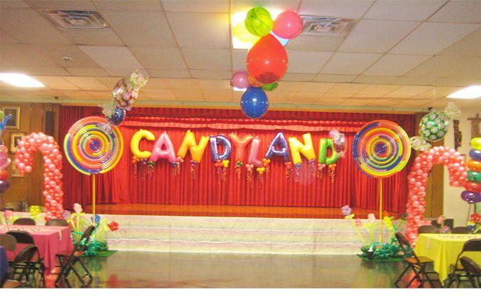 Bon Candyland Party Theme Centerpieces Candyland Tips Decorations