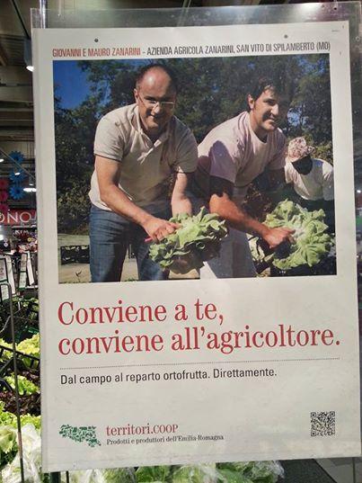 i nostri prodotti anche sui banchi alla Coop Emoticon smile Direttamente dal produttore... anche alla Coop!! #lattugazanarini #coop #coopestense #km0 #freschezza #sapore #territorio