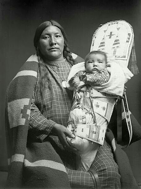 Mother and Child, Crow