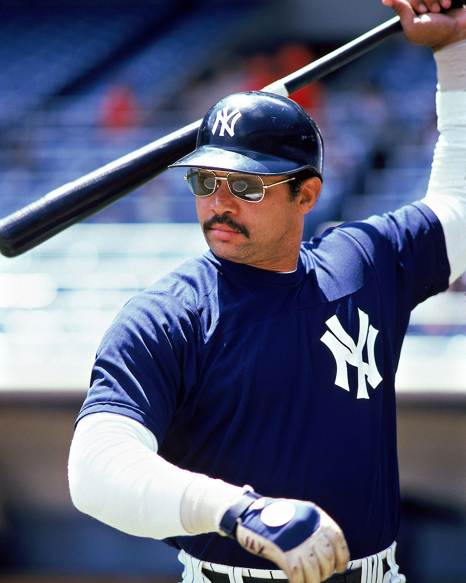 Before there was Mr. November (or even Mr. May), there was Mr. October. The Straw That Stirs the Drink only stirred in the Bronx for five years, but Reggie's two rings -- and his three HRs in Game 6 of the 1977 World Series -- remain the stuff of legend.