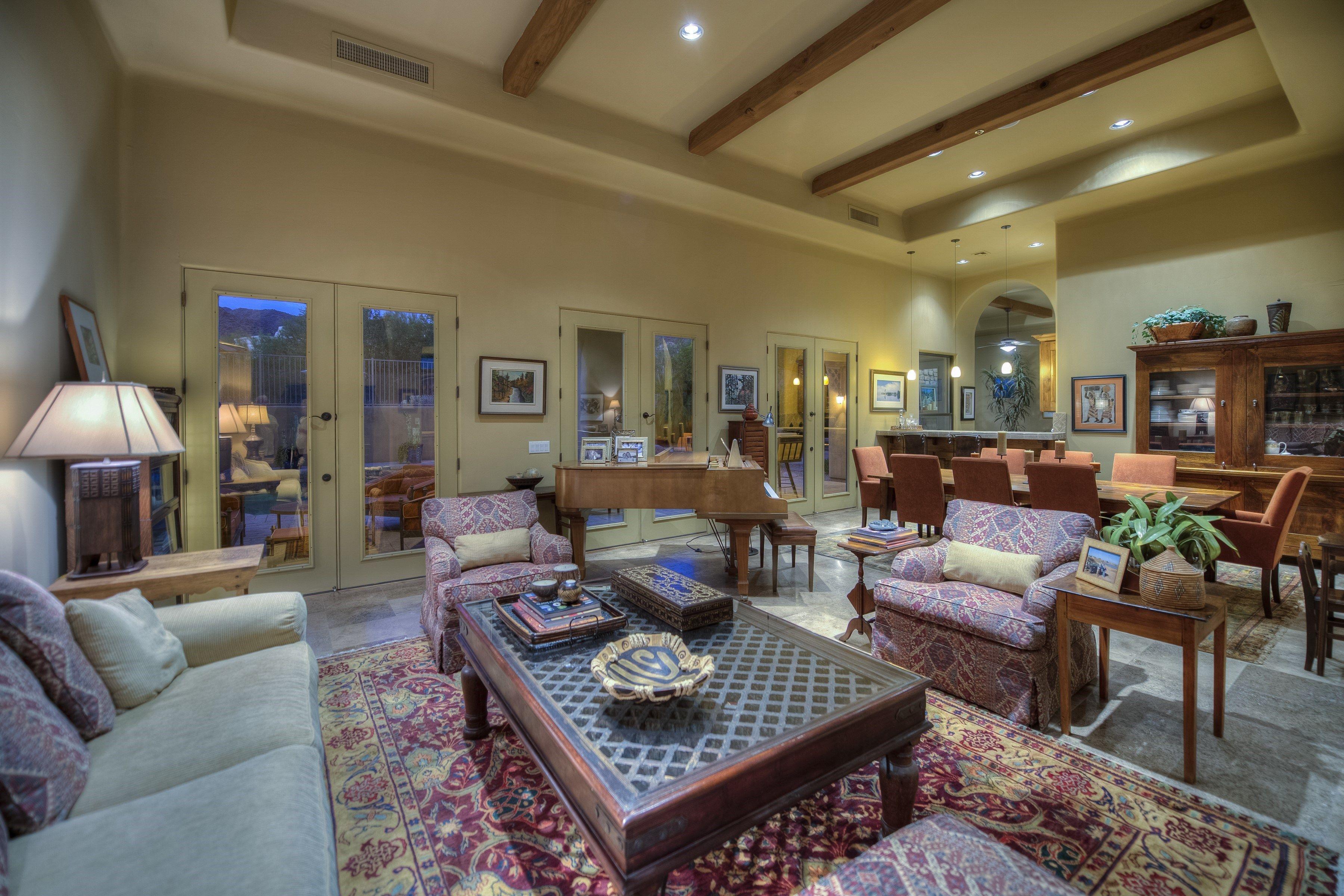 Villa Montavo Scottsdale Arizona- Living Room | Arizona ...