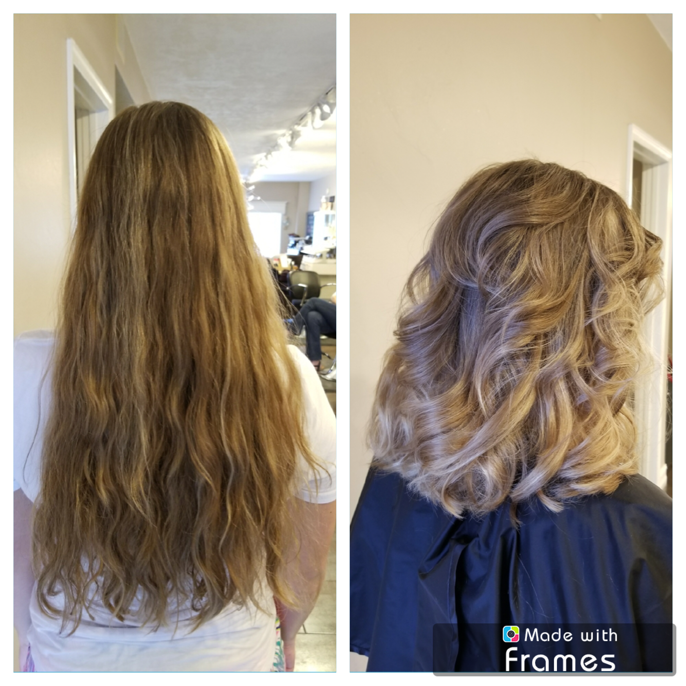 Perfect Melt For Dirty Blonde Hair Took Outgrown Highlights And