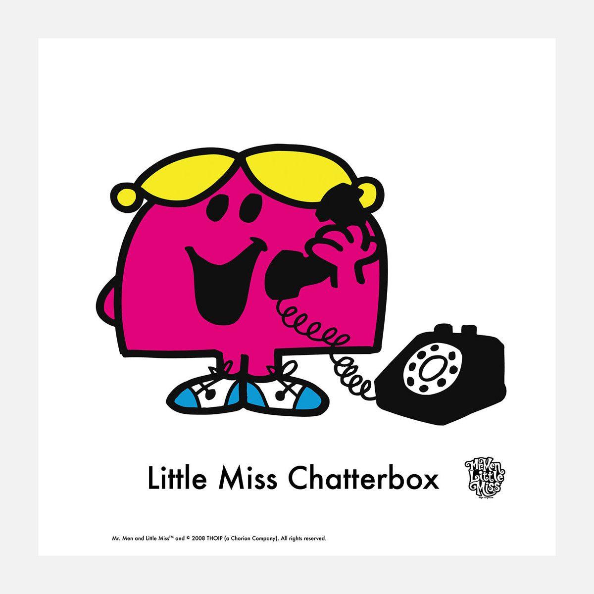 Little Miss Chatterbox that's me ) Mr men little