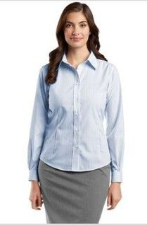 b536c898 Red House Ladies Fine Line Non-Iron Button-Down Shirt For your office wear button  down shirts look stylish and casual as well.