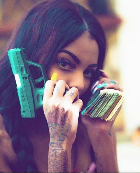 Pinterest Teethegeneral Brazy Bali Gangster Girl Bali Baby Guns