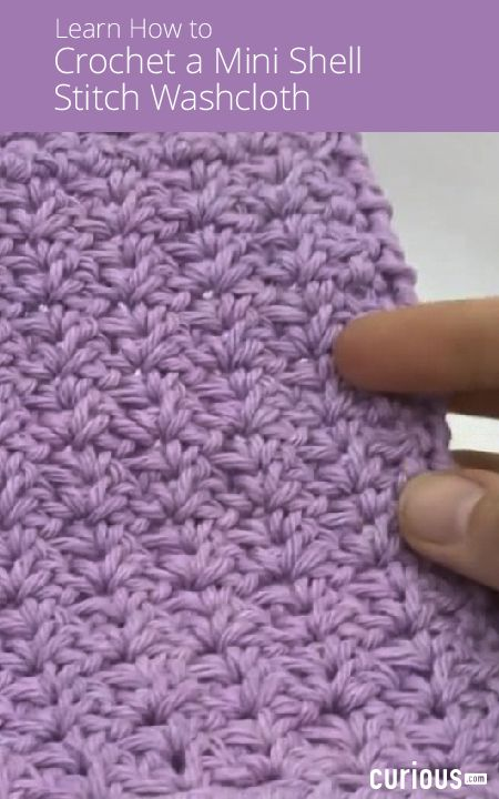Crochet Ever After How To Crochet The Mini Shell Stitch Knitting