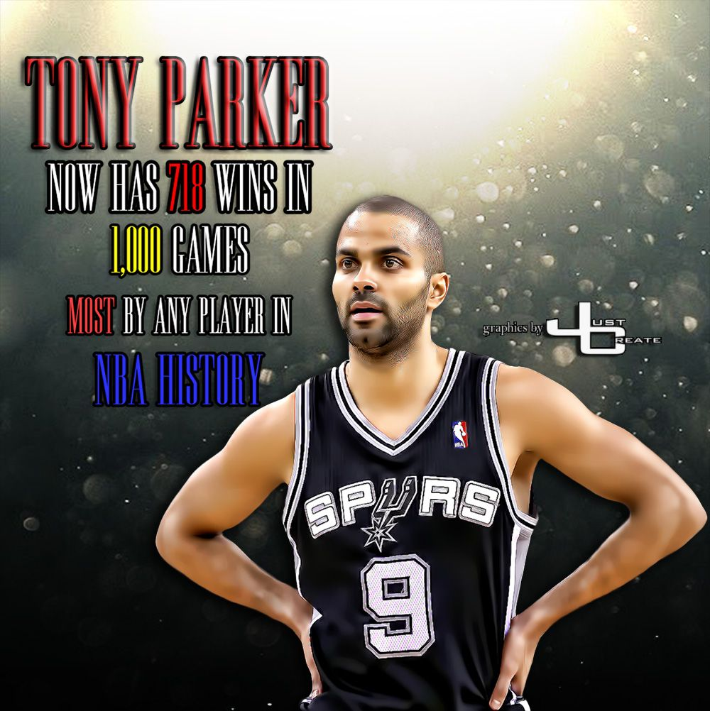 Tony Parker graphics by justcreate Sports Edits