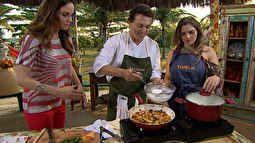 Estrelas - Com Titina Medeiros de assistente, Fábio Lago prepara bobó de camarão | globo.tv