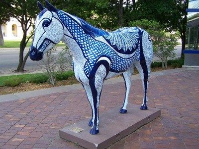 HORSES ON PARADE in the amarillo texas area Painted pony