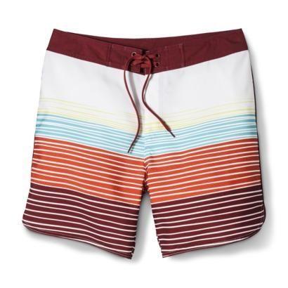 6800779e439bc Jeff Canham's Limited Edition beach-ready Mossimo Supply Co. Men's Swim  Board Shorts - Stripe