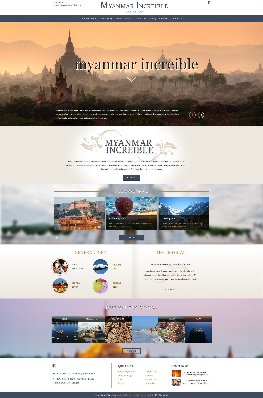 Travel And Tour Website Design Myanmar Increible Confirmed Design Travel Tour Website Design Alv Travel Tours Travel Wordpress Themes Travel And Tourism
