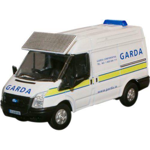 Oxford Diecast 76ft007 Garda Ford Transit Swb Med Ford Transit Garda Diecast