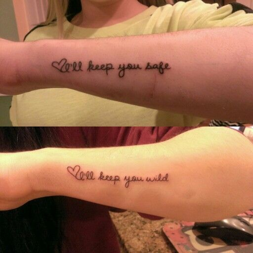 My Sister And I Got Matching Tattoos. @MeeshyxO