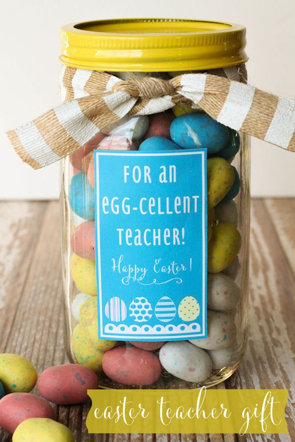 Cute easter teacher gift lilluna diy easter pinterest cute easter teacher gift lilluna negle Choice Image