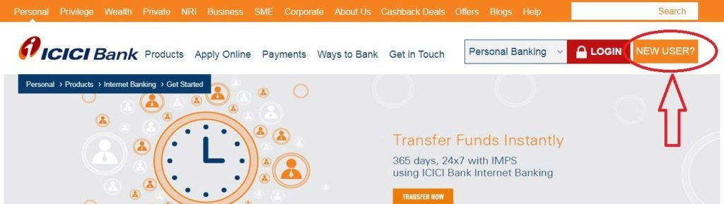Icici Internet Banking In 2020 Banking Icici Bank Banking Services